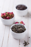 Dry herbal tea Stock Photography