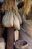 Dry herbals background Stock Photo