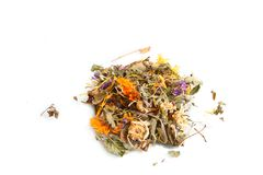 Dry herbs Royalty Free Stock Image