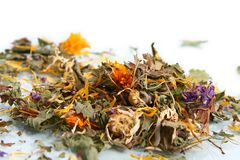 Dry herbs Royalty Free Stock Photography