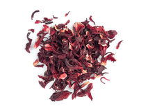 Dry hibiscus tea Royalty Free Stock Photography