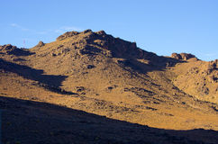 Dry hills of Morocco Stock Images