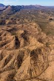 Wethered hills in the West MacDonnells. Dry hills in the West MacDonnell National Park in the Northern Territory, Australia Stock Photography
