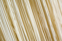 Dry homemade noodles Royalty Free Stock Images