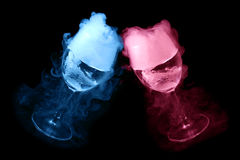 Dry ice effect Stock Image