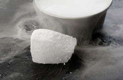 Dry ice Royalty Free Stock Photography