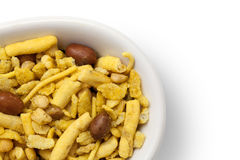 Dry Indian snack Stock Photo