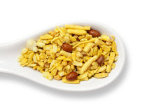 Dry Indian snack Royalty Free Stock Photos