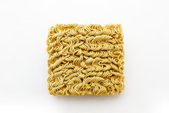 Dry instant noodle. Stock Images
