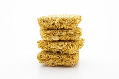 Dry instant noodle. Stock Photography