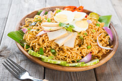 Dry Instant Noodle Royalty Free Stock Photos