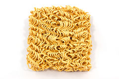 Dry instant noodle Royalty Free Stock Photography