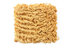 Dry instant noodles Royalty Free Stock Images