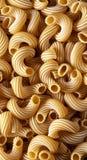 Dry Italian Cavatappi Pasta texture Stock Photos