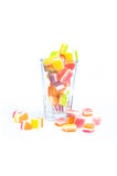 Dry jelly Royalty Free Stock Image