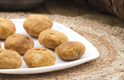 Dry kachori Stock Images