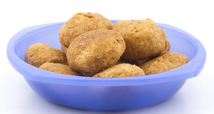 Dry kachori Royalty Free Stock Photos