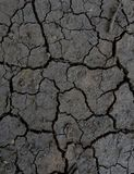Dry knäckte jordutkastet Royaltyfri Foto