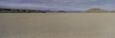 Dry lake Stock Image