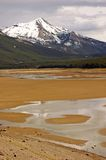 Dry lake Royalty Free Stock Photo