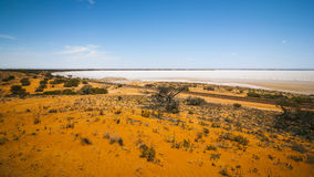 Dry lake Australia Stock Photos