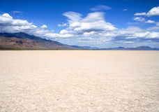 Dry Lake Bed Royalty Free Stock Images