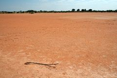 Dry Lake Bed stock image