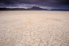 Dry lake bed Royalty Free Stock Photography