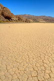 Dry lake bed in Death Valley CA Royalty Free Stock Photo