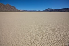 Dry Lake Bed Death Valley National Park Stock Photography