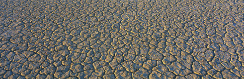 Dry lake bed in Mojave Desert Royalty Free Stock Photos