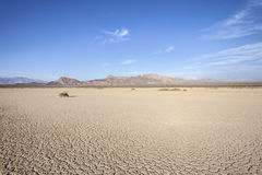 Dry Lake Death Valley Royalty Free Stock Photography