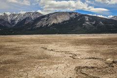 Dry lake Royalty Free Stock Photography