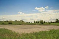Dry lake landskape Stock Image