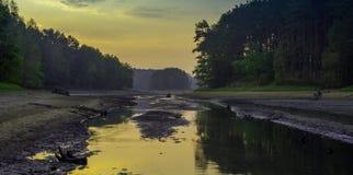 Dry lake Royalty Free Stock Photography