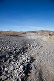 Dry Lakebed. A dry lakebed in the west Texas desert waiting for the rains Royalty Free Stock Image