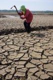 dry land Στοκ Φωτογραφία