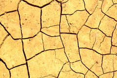 Dry land background Royalty Free Stock Images