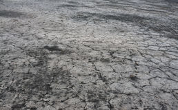 Dry land with cracks Stock Photo