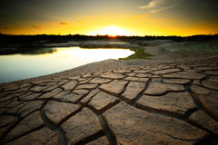Dry land Royalty Free Stock Images