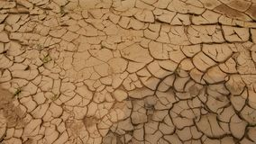 The dry land Stock Photography
