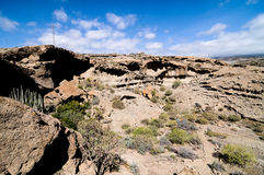 Dry landscape Stock Image