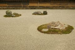 Dry landscape garden Royalty Free Stock Photography