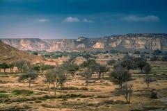 Dry landscape of Queshm Royalty Free Stock Photo