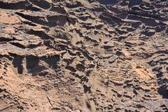 Dry Lava Basaltic Rock Royalty Free Stock Photos