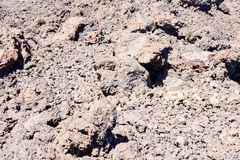 Dry Lava Basaltic Rock. Stone Texture Background Royalty Free Stock Photo