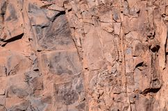 Dry Lava Basaltic Rock. Stone Texture Background Royalty Free Stock Image