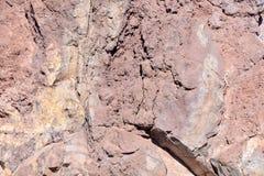 Dry Lava Basaltic Rock Stock Photography