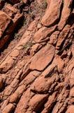 Dry Lava Basaltic Rock Stock Photo
