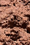 Dry Lava Texture Background Stock Photo